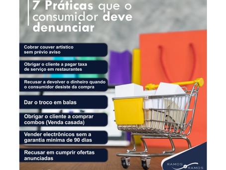 7 Práticas que o consumidor deve denunciar