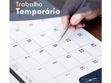 TRABALHO TEMPORÁRIO
