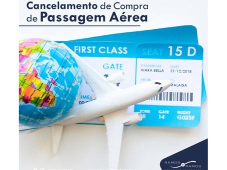 CANCELAMENTO DE COMPRA DE PASSAGEM AÉREA