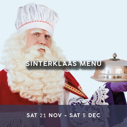 Enjoy our Sinterklass Special Menu