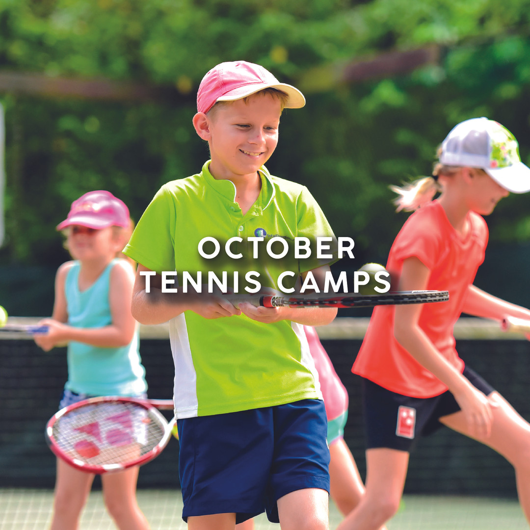 October Tennis Camps