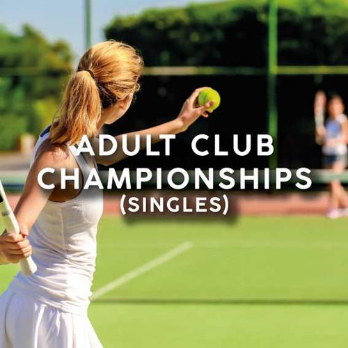 Adult Club Championships (Singles)