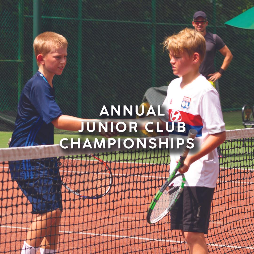 Annual Junior Club Championships