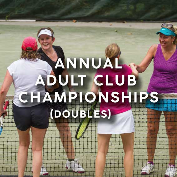 Annual Adult Club Championships (Doubles)