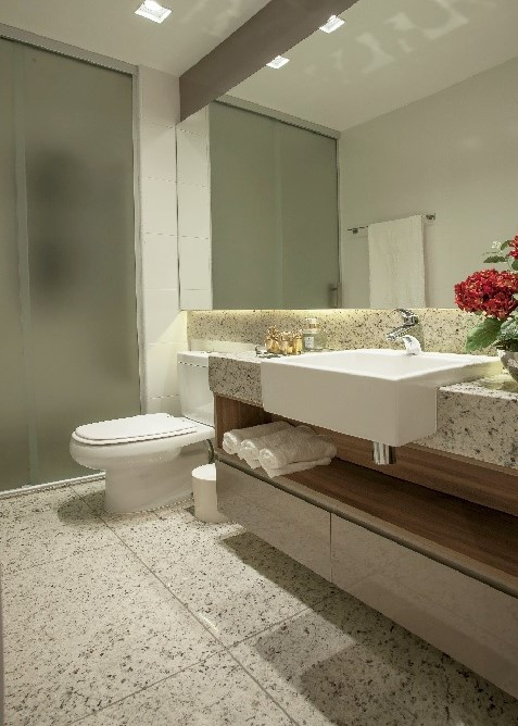 Projeto apartamento Timbiras 01 BH - banheiro