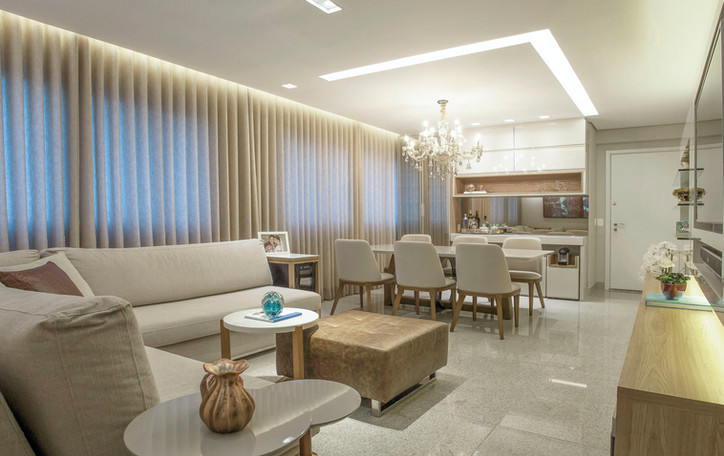 Projeto apartamento Timbiras 01 BH -