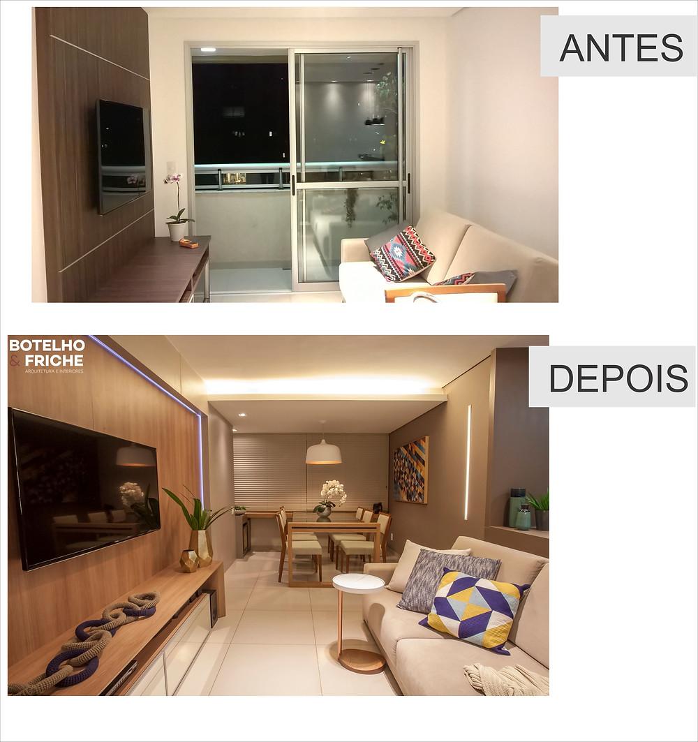 A diferença de um projeto de arquitetura para espaços pequenos