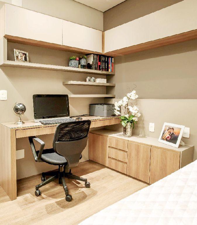 Projeto apartamento Timbiras 01 BH - home office