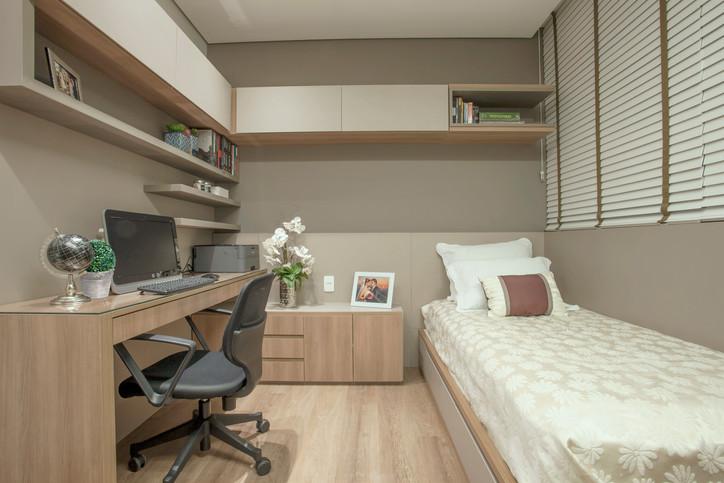 Projeto apartamento Timbiras 01 BH 0 Home office
