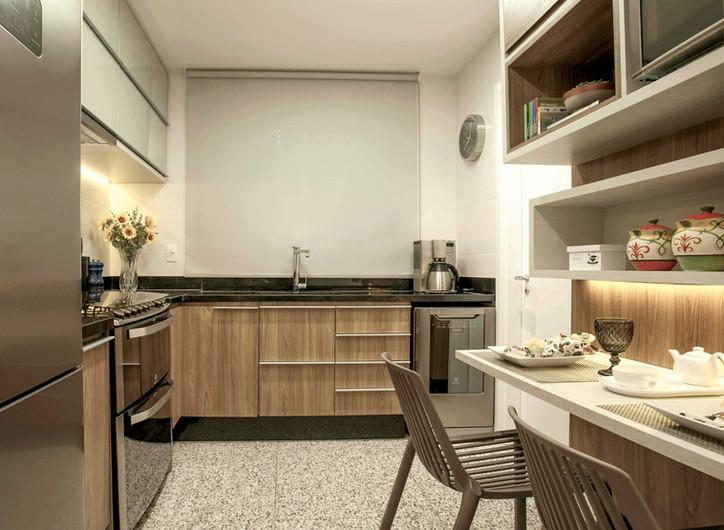Projeto apartamento Timbiras 01 BH - cozinha