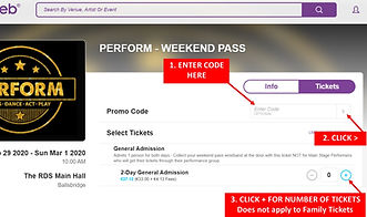 ticket web discount codes instructions.j
