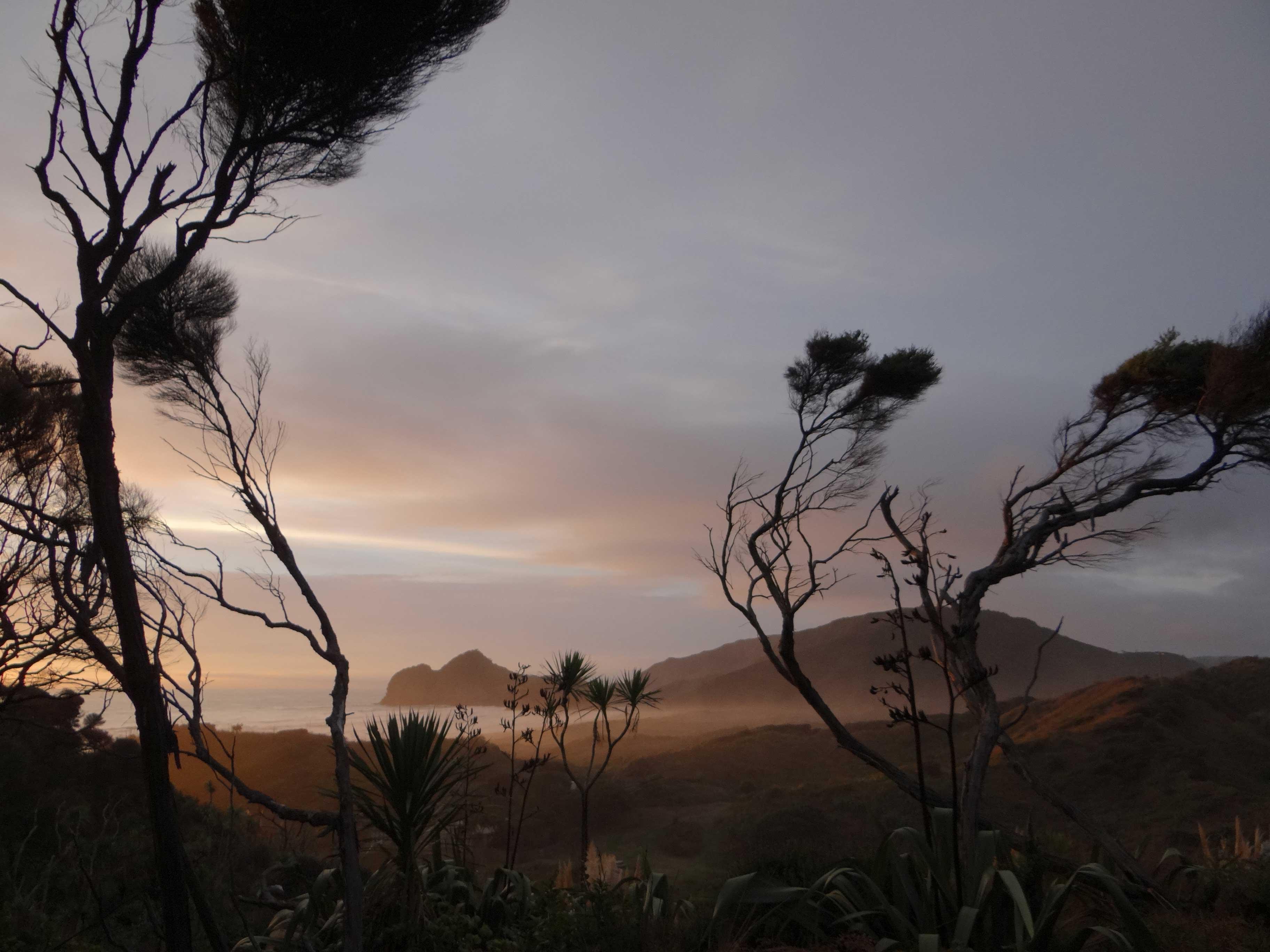 Sunset over Otawewe