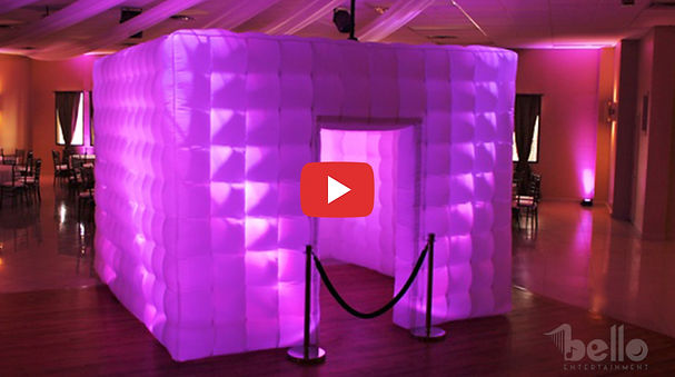 Bello Entertainment - LED Inflatable Pho