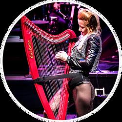 Kiki Bello Electro Harpist HOME Icons Ki