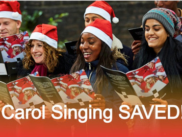 Mission Accomplished!!! Carol singing is now legal again!
