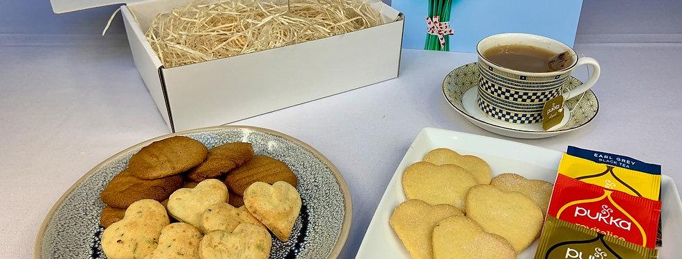 Tea & Hand-made Biscuits