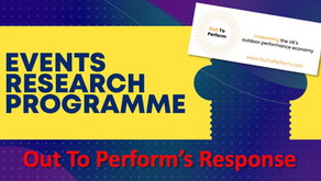Our response to the Events Research Programme Phase 1