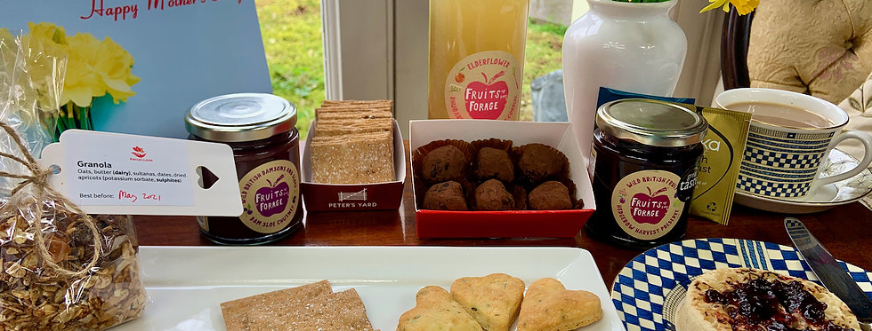 All-day Artisan Treats Hamper! From breakfast to after-dinner...