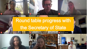 Roundtable breakthroughs with the Secretary of State Oliver Dowden