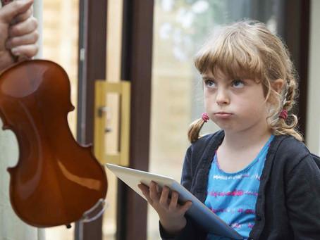 """Music Practice Sucks!"" – How you can help children to love practice"