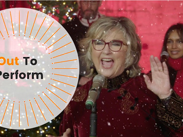 Out To Perform produces Carols for Care Homes outdoor performance with Lesley Garrett