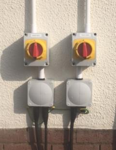 Electric isolators