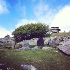 The Cheesewring on Bodmin Moor