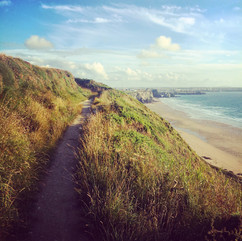 Coast Walk to Watergate Bay