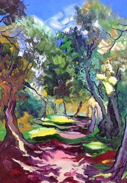 le parc des oliviers-Roquebrune Cap Martin
