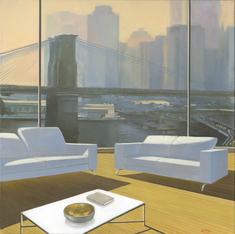 BROOKLYN BRIDGE 80X80
