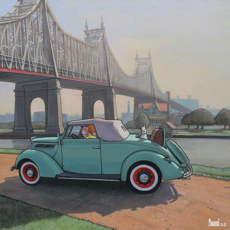 T.A Baiser sous le pont de Queensboro