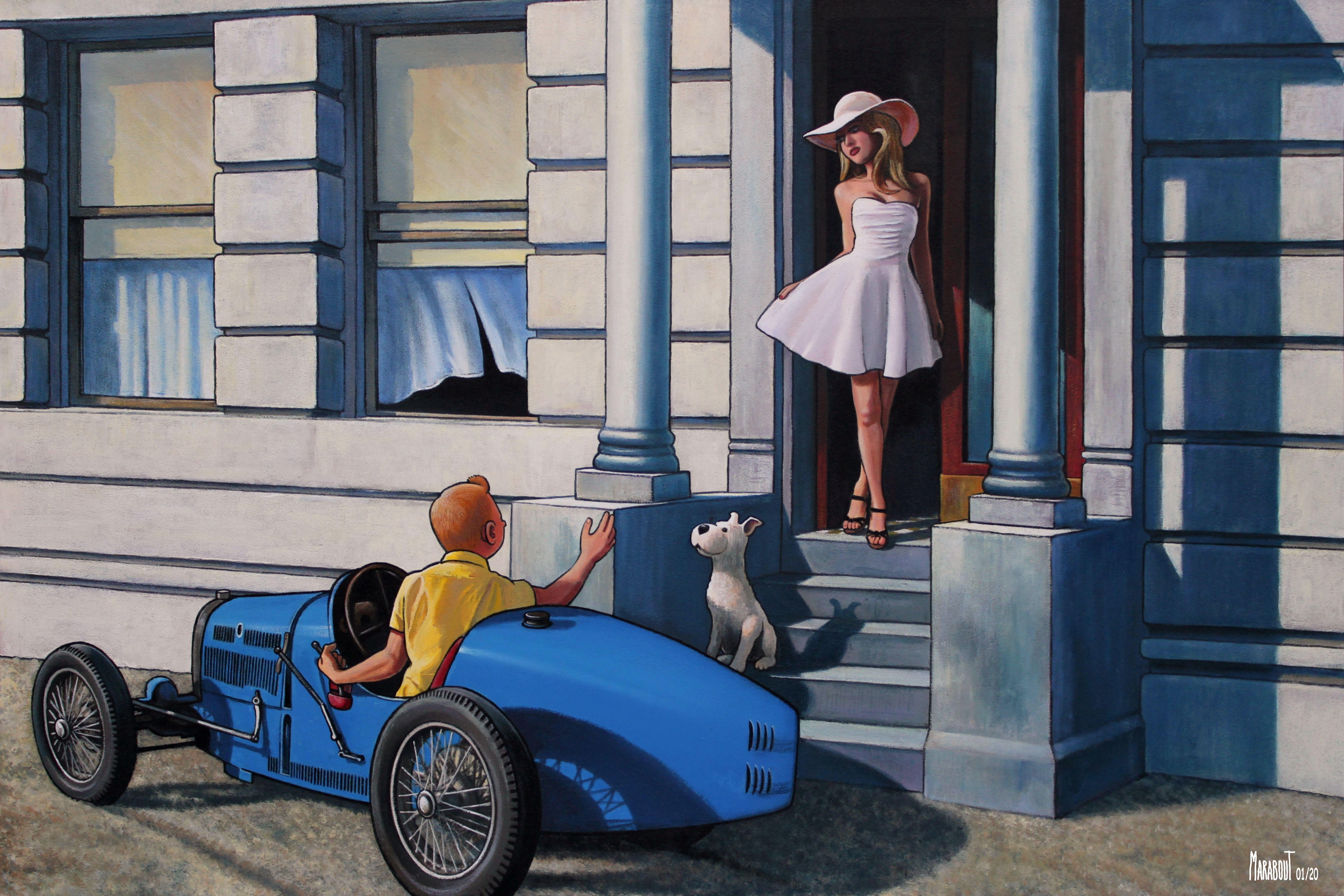 TA. Visite estivale en Bugatti