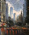 RAINNING DAY IN NY 100X81.JPG
