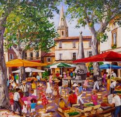 Le_marché_de_St_Rémy_de_Provence_90x90