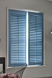 full height french shutters