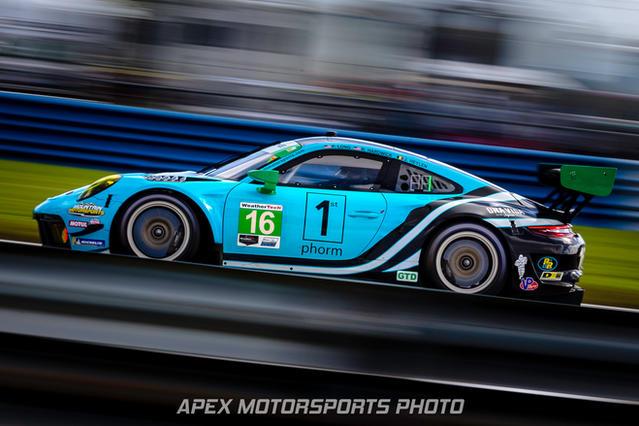 Wright Motorsports Porsche 911 GT3R