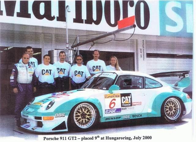 Hungaroring 1999 911GT2, 9th place