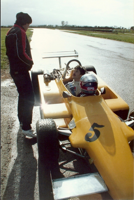F3 test Magny Cours 1981