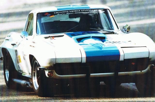 1st place GTM SPA 1999 Corvette 66