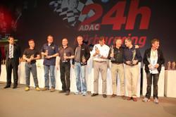 P1 celebration 24 H Nurburgring 2012