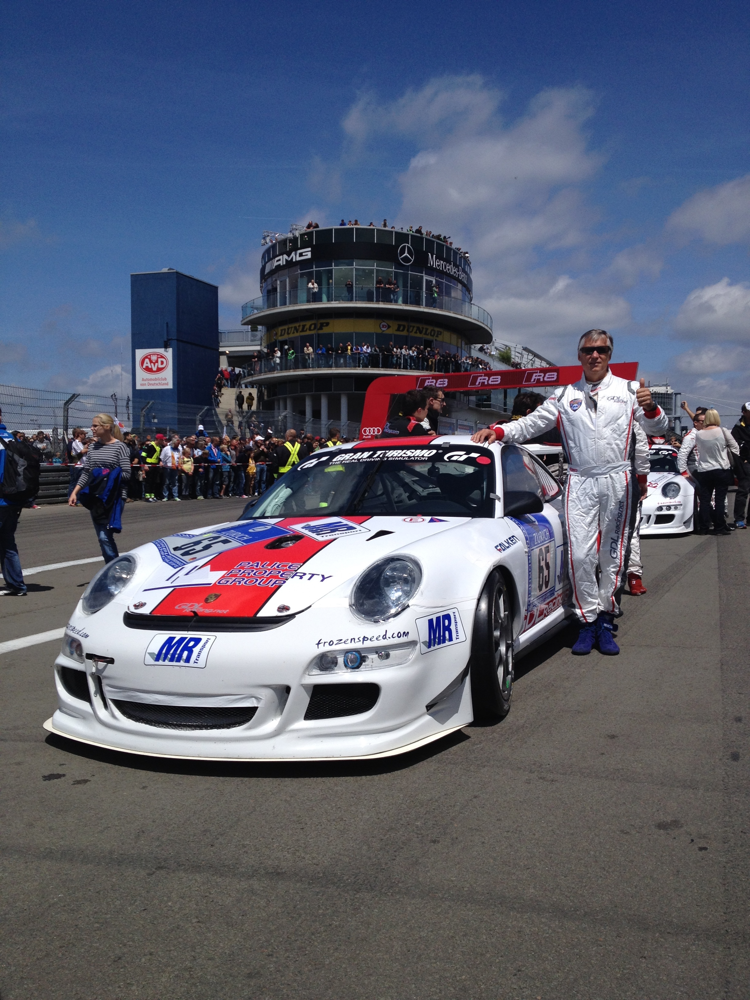 Starting grid 24H 2014