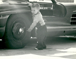 Those tires need changing Dad