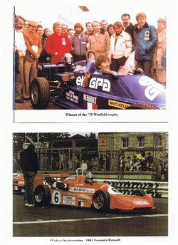 Winner FR Volant Magny Cours 1979