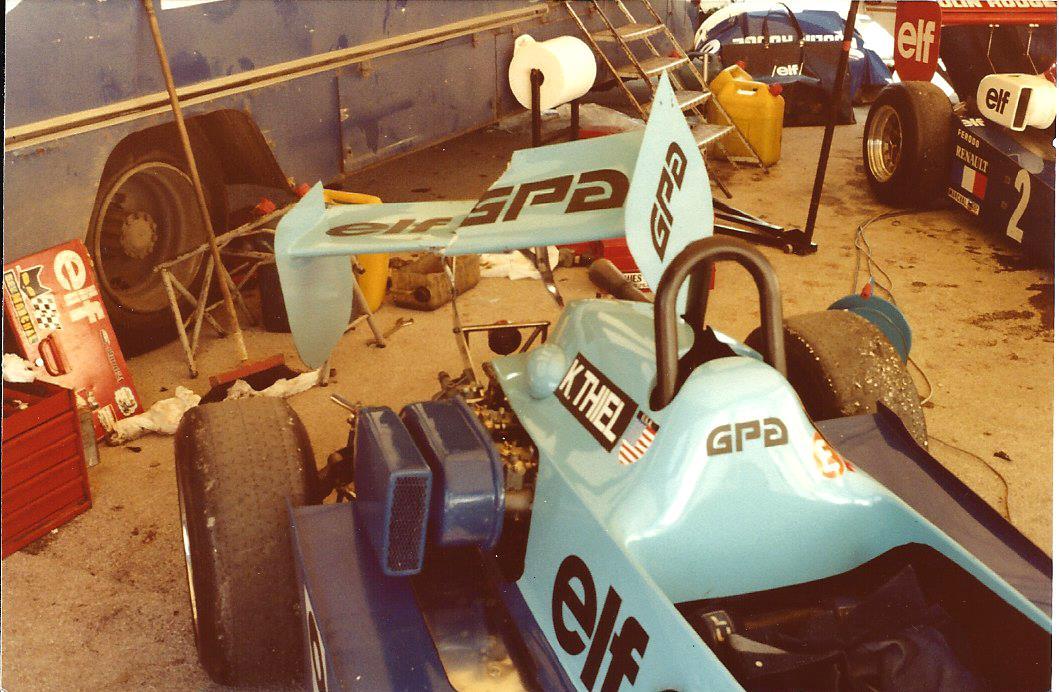 Damaged wing FR Dijon 1980