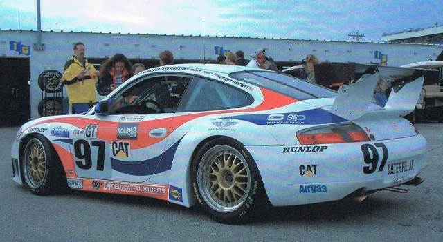 Daytona 24 2004  with Graham Nash