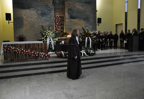 Mistrz ceremonii pogrzebowej - Jacek Borowik