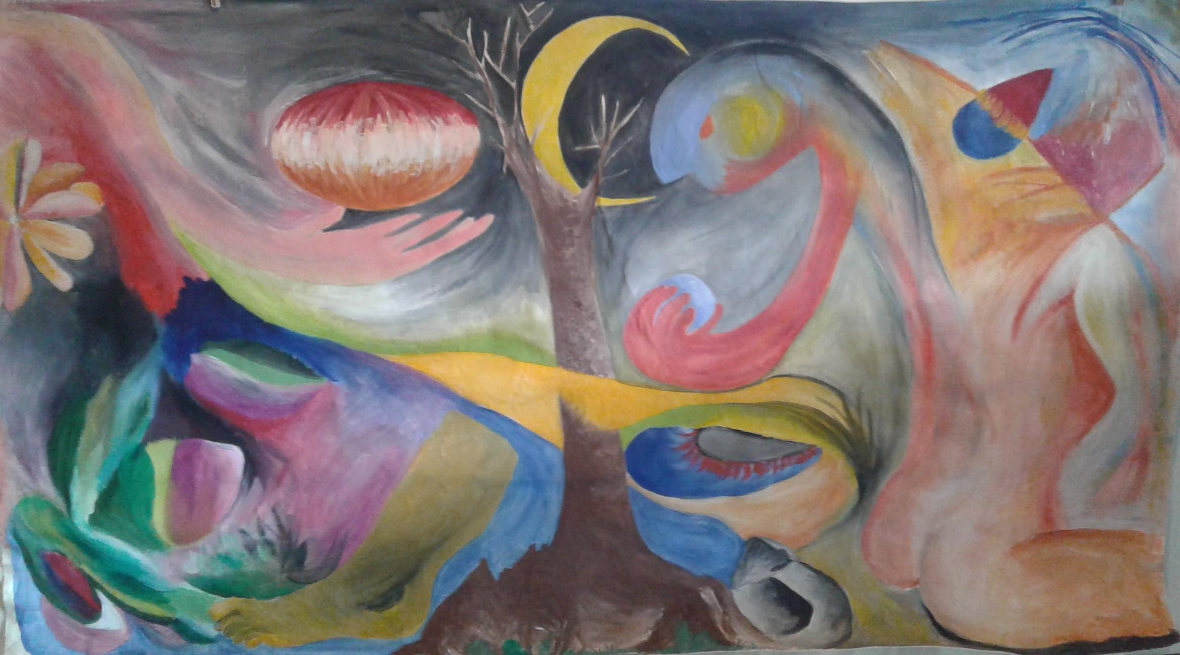 Painel homenagem às vanguardas - Tersarau