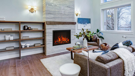 """Traditional 38"""" Fireplace"""