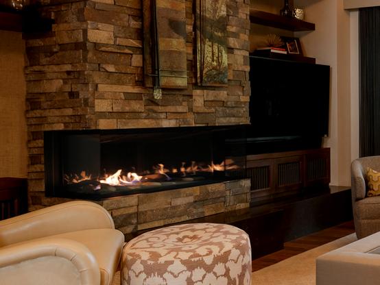Galaxy 58 Gas Fireplace