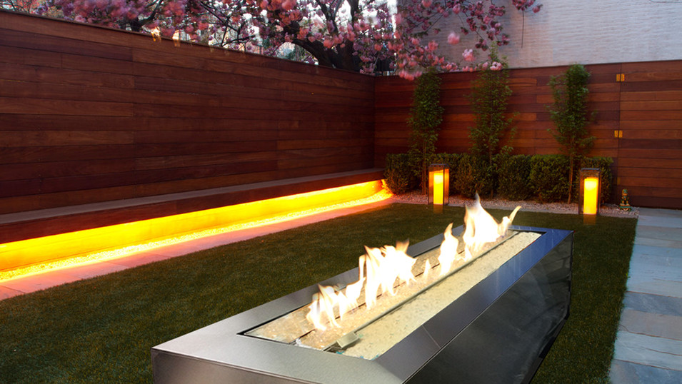 Fire Feature Outdoor Gas Fireplace